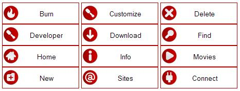 Botões mais estilizados, simples, sofisticados e de fácil modificação