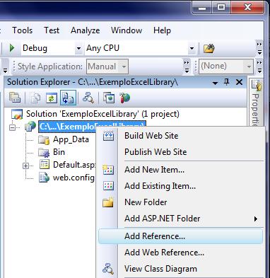 Manipulando arquivos Excel sem uso da interoperabilidade ou