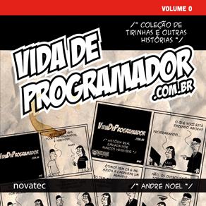 Capa do livro Vida de Programador