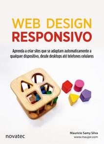 Foto da capa do livro Web Design Responsivo