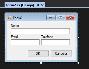Formulário do Projeto